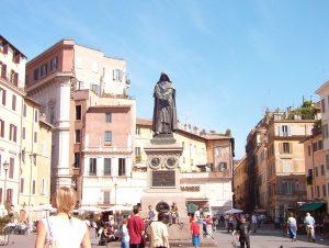 Zwiedzanie Rzymu -Plac Campo de Fiori