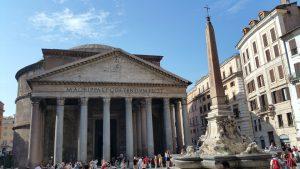 Zwiedzanie Rzymu - Panteon